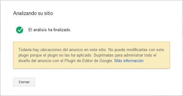 analisis finalizado google publisher plugin