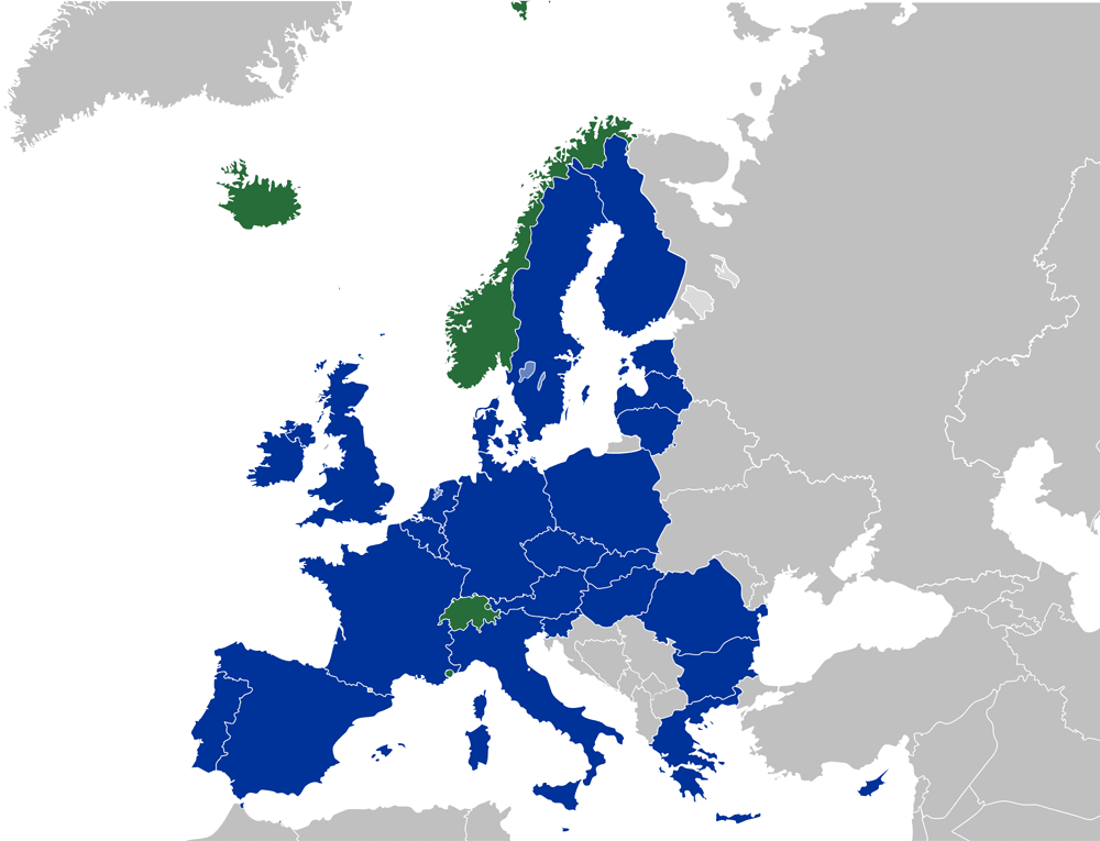 paises single euro payments area (SEPA)